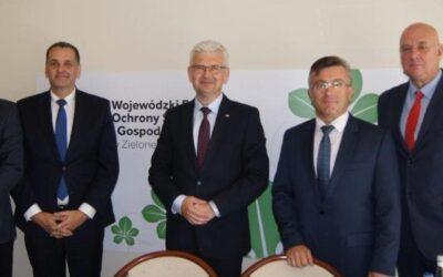 Wiceminister Zyska o zielonych inwestycjach w województwie lubuskim