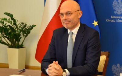 Minister Kurtyka wziął udział w debacie Climate Positive