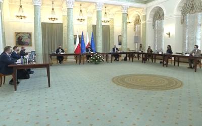 Spotkanie Prezydenta Andrzeja Dudy z Młodzieżową Radą Klimatyczną