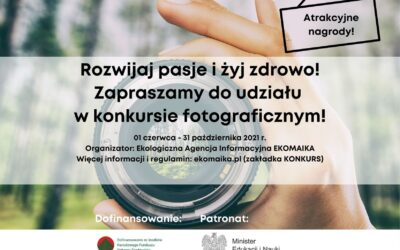 Wygraj atrakcyjne nagrody ciesząc się wakacjami. EKO-fotograficzny konkurs.